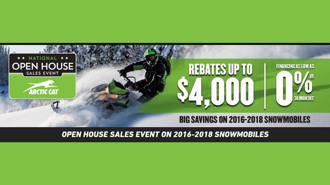 Arctic Cat - National Open House Sales Event